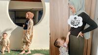 6 Potret Baby Bump Anak Kedua Rachel Vennya (sumber: instagram/@rachelvennya)