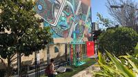 Mural di Perth CBD, Northbridge Australia Barat. (Liputan6.com/Shinta NM Sinaga)