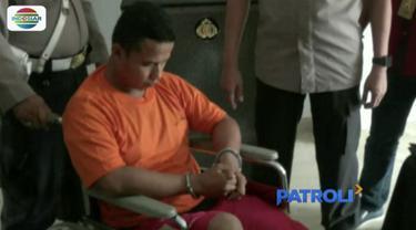 Buron 10 bulan, pelaku begal pengemudi ojek online di Medan Deli, Sumatera Utara, akhirnya ditangkap polisi.