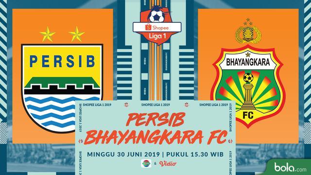 Persib Bandung Vs Bhayangkara Fc