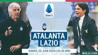 Serie A - Atalanta Vs Lazio - Head to Head Pelatih (Bola.com/Adreanus Titus)