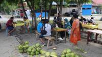 Warga mulai beraktivitas kembali setelah gempa dan tsunami mengguncang Sulteng. (Istimewa)