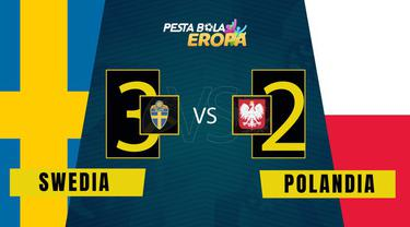 Berita Video Matchday 3 Grup E Euro 2020 Swedia Vs Polandia (3-2), pada Rabu (23/6/2021)