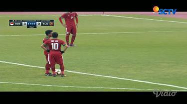 Egy Maulana menjadi pahlawan kemenangan Timnas Indonesia U-19 di laga kedua Grup F Kualifikasi Piala Asia U-19 2018.