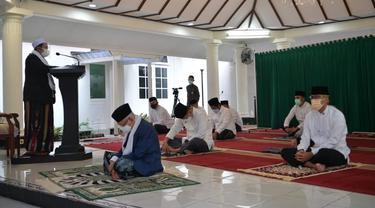 Wakil Presiden Ma'ruf Amin Merayakan Hari Raya Idul Adha.