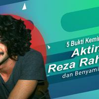 Berikut 5 bukti kemiripan akting Reza Rahadian dan Benyamin Sueb.