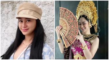 Bikin Pangling, Ini 6 Potret Denise Chariesta Pakai Baju Adat Bali