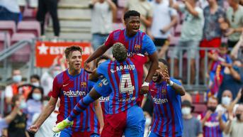 FOTO: Ansu Fati Cetak Gol, Barcelona Sikat Levante 3-0