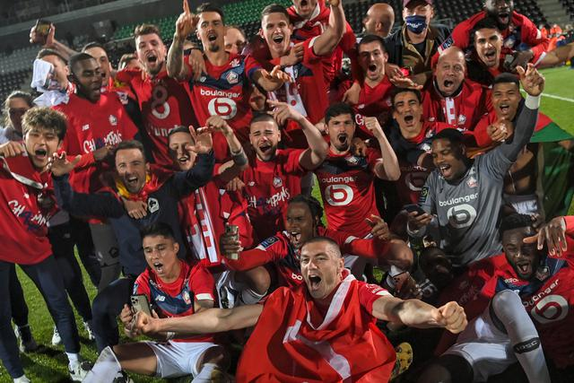 Lille Juara Liga Prancis (AFP)