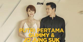 Gummy dan Jo Jung Suk Sambut Kelahiran Putri Pertama