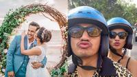 Potret Perjalanan Cinta Vanessa Angel dan Suami. (Sumber: Instagram/vanessaangelofficial dan Instagram/bibiardiansyah)