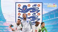 Piala Eropa - Euro 2020 Timnas Inggris (Bola.com/Adreanus Titus)