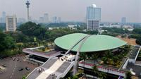 Gedung DPR di Senayan, Jakarta.