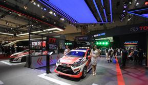Booth Toyota di GIIAS 2018 mendapat penghargaan Booth Terfavorit