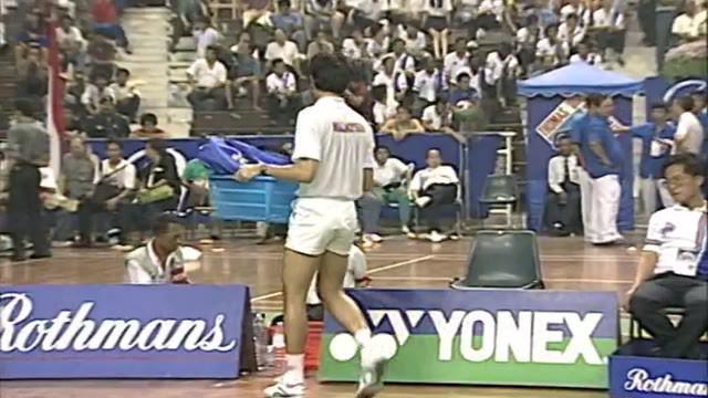 Berita Video Flashback Bulutangkis Final Tunggal Putra Thomas Cup 1992 Antara Joko Suprianto Vs Kwan Yoke Meng