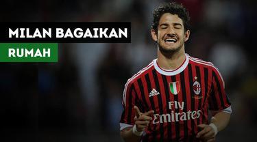 Alexandre Pato menganggap AC Milan sebagai rumahnya.