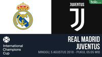 ICC 2018_Real Madrid Vs Juventus (Bola.com/Adreanus Titus)