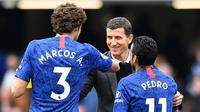 Javi Garcia dianggap sebagai kandidat yang tepat untuk menjadi pengganti Maurizio Sarri di Chelsea. (AFP/Ben Stansall)