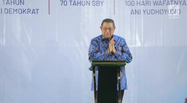 SBY Sampaikan Pidato pada Malam Kontemplasi