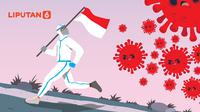 Banner Infografis Awas Indonesia Memasuki Gelombang II Covid-19. (Liputan6.com/Abdillah)