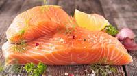 Ilustrasi Foto Ikan Salmon (iStockphoto)