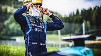 Sean Gelael saat mengikuti race 1 seri perdana Formula 2 2020 di Sirkuit Red Bull Ring, Austria, Sabtu (4/7/2020). (Istimewa)