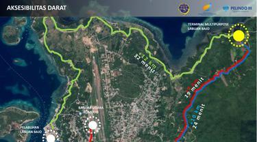 Desain Pelabuhan Bajo, NTT.