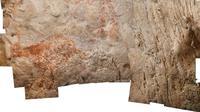Binatang seperti sapi ini adalah karya seni figuratif tertua yang diketahui di dunia. Setidaknya berusia 40.000 tahun. (Kredit: Luc-Henri Fage)