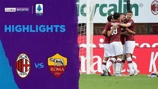Berita video highlights pekan ke-28 Serie A 2019-2020 antara AC Milan melawan AS Roma yang berakhir dengan skor 2-0 di San Siro, Minggu (28/6/2020).