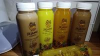 Deretan varian Jejamu fresh delivery dari Mustika Ratu. (Liputan6.com/Dinny Mutiah)