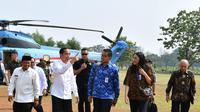 Presiden Jokowi Kunjungi Pelabuhan Patimban (dok: Laily Rachev - Biro Pers Sekretariat Presiden)