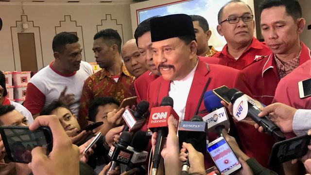 Ketua Umum Partai Keadilan dan Persatuan Indonesia (PKPI) AM Hendropriyono