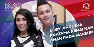 Andhika Pratama dan Ussy Sulistiawaty Tak Masalah Anak Gunakan Make up