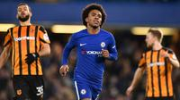 Winger Chelsea, Willian. (AFP/Glyn Kirk)