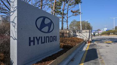 Pabrik Hyundai di Korea Selatan