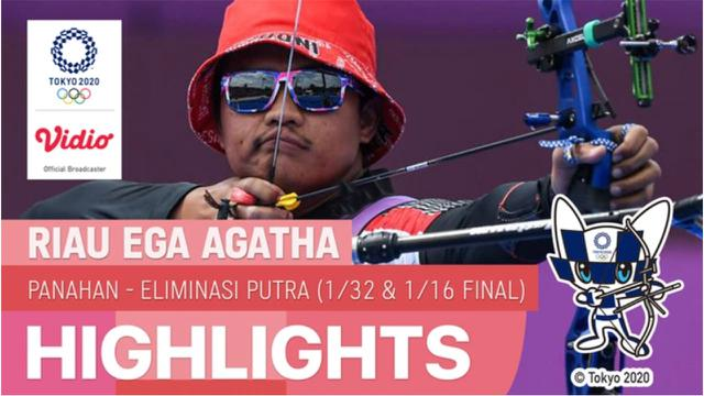 Riau Ega Agatha Babak 16 Besar Olimpiade Tokyo 2020