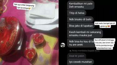 Viral Kisah Netizen Putus Pacaran, Cowoknya Minta Barang Pemberiannya Dikembalikan