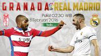 Granada vs Real Madrid (Bola.com/Samsul Hadi)