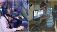 Kocaknya gamer saat bermain game (Sumber: Instagram/estetikainet/ngumpulreceh)