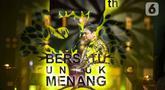 Ketua Umum Partai Golkar Airlangga Hartarto memberikan sambutan serta pidato politik dalam acara HUT Partai Golkar di Kantor DPP Golkar, Jakarta, Sabtu (23/10/2021). (Liputan6.com/Faizal Fanani)
