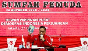 Sekjen PDIP Hasto Kristiyanto Saat Rapat Koordinasi Bidang Nasional (Rakorbidnas) bidang Pemuda dan Olahraga. (Foto: Dokumentasi PDIP).