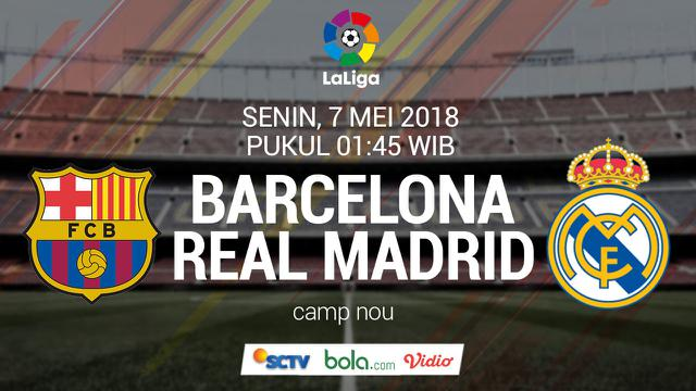La Liga Barcelona Vs Real Madrid Link Live Streaming