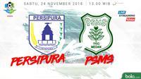 Liga 1 2018 Persipura Jayapura Vs PSMS Medan (Bola.com/Adreanus Titus)