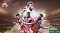 Skuat Persija Jakarta. (Bola.com/Dody Iryawan)