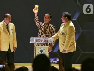 Jokowi Hadiri Pembukaan Munas X Partai Golkar