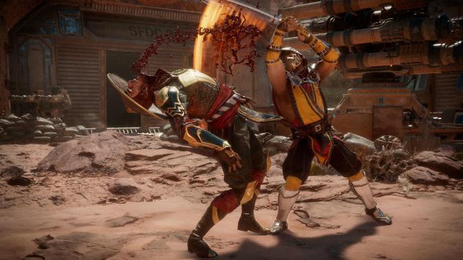 Mortal Kombat 11. (Foto Gamespot)