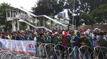 Aksi mahasiswa depan KPK