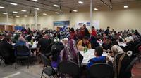 Suasana buka puasa di Toronto, Kanada (Sumber: KJRI Toronto)