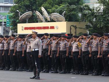 Polda Metro Jaya Gelar Apel Pengamanan Malam Takbiran