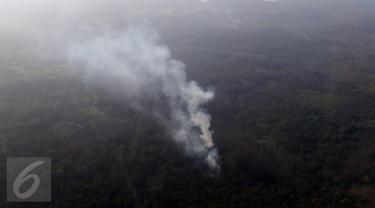 20151027-Begini Penampakan Kabut Asap di Kalimantan Timur